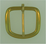 Solid Brass Harness Belt Buckles
